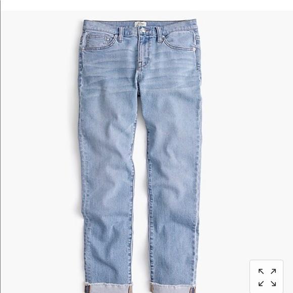 J. Crew Denim - J Crew Slim Broken In Boyfriend Jeans Size 26